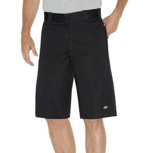 NWT Men's Black Dickie Shorts Regular Fit